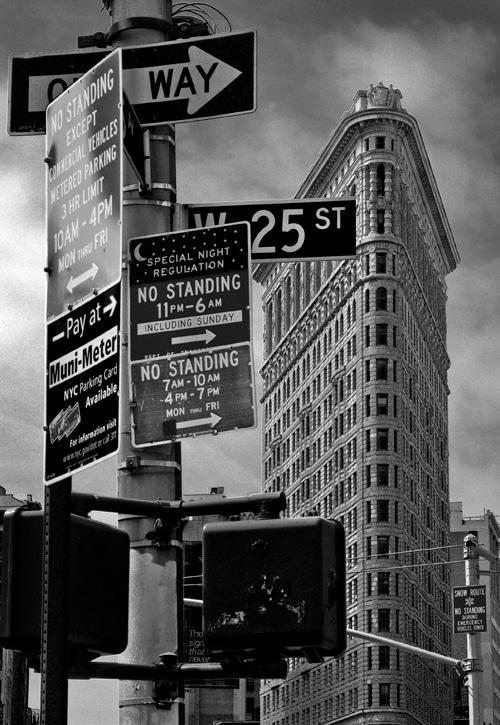 New York City Pictures Black White